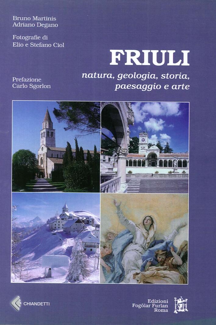 Friuli. Natura, Geologia, Storia, Paesaggio e Arte.
