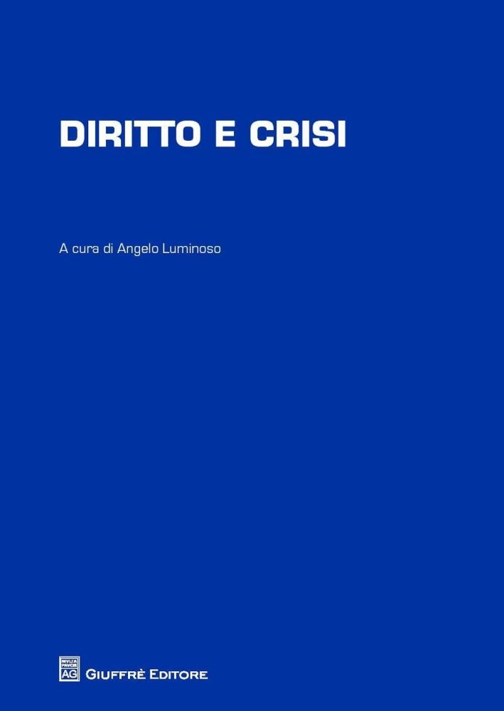 Diritto e crisi.