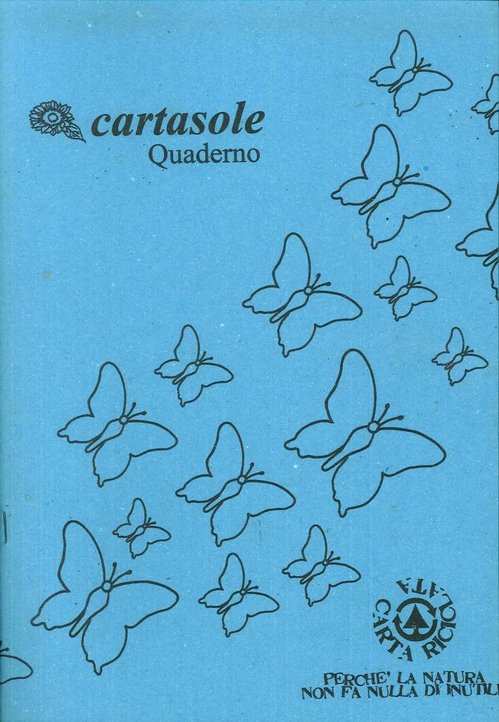 Cartasole Quaderno Azzurro 21x29.