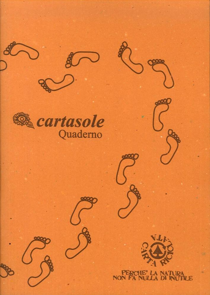 Cartasole Quaderno Arancione 21x29