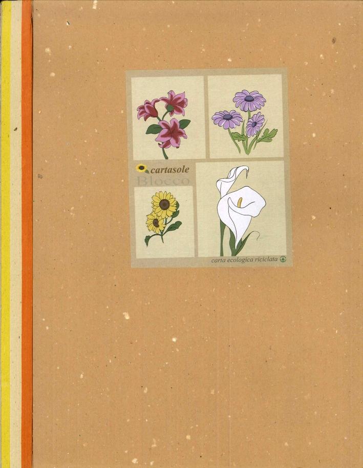 Cartasole Blocco Multicolor: Arancione, Avana, Giallo 21x29.