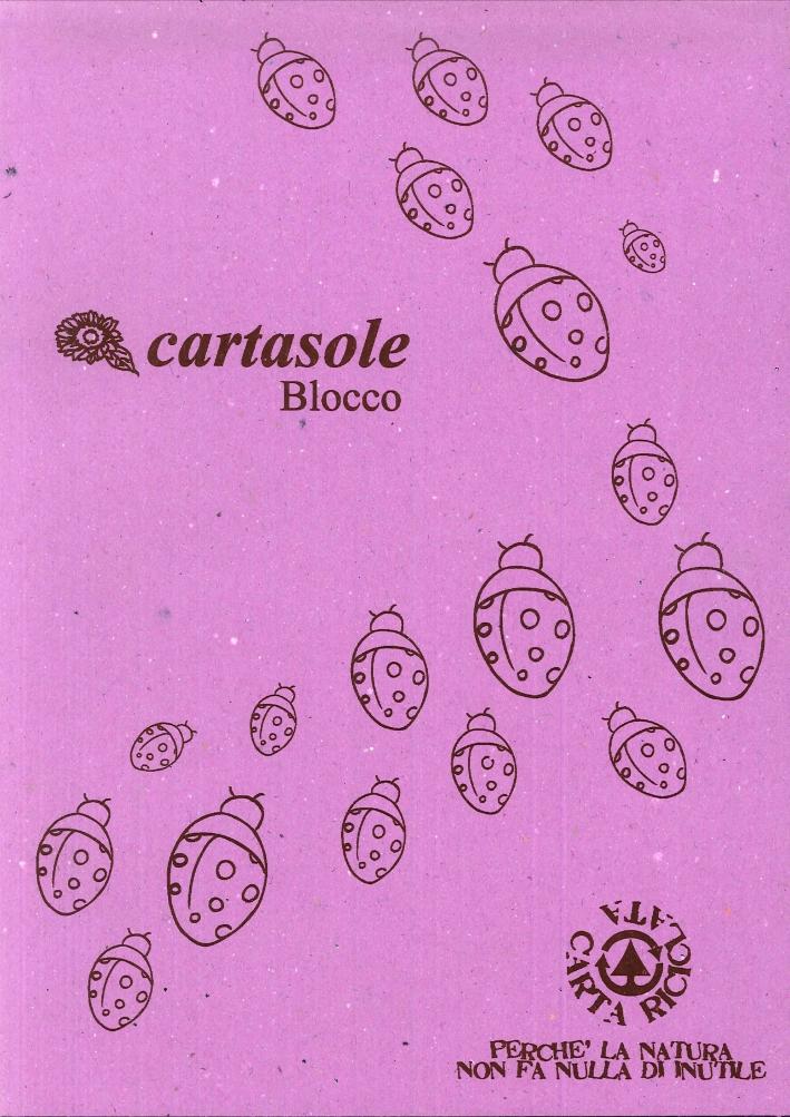 Cartasole Blocco Lilla 21x29.