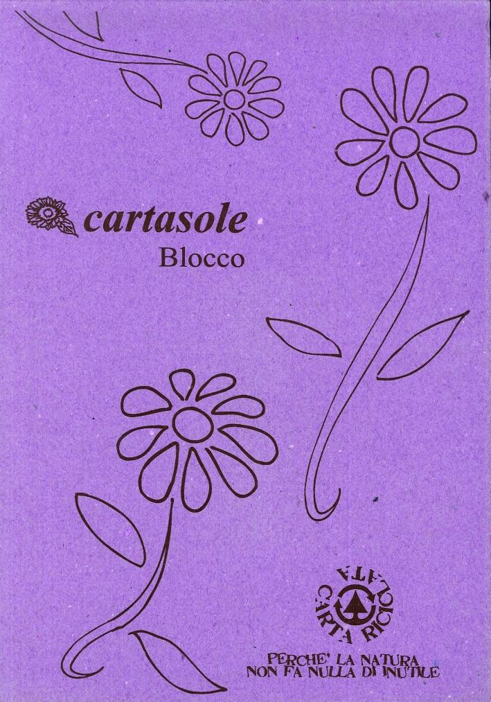 Cartasole Blocco Viola 21x29.
