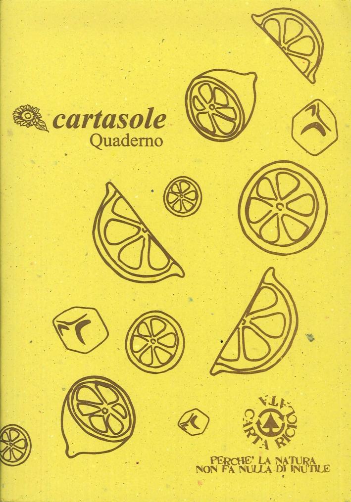 Cartasole Quaderno Giallo 15x21