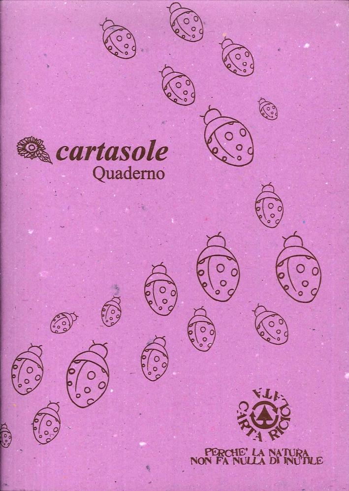 Cartasole Quaderno Lilla 15x21.