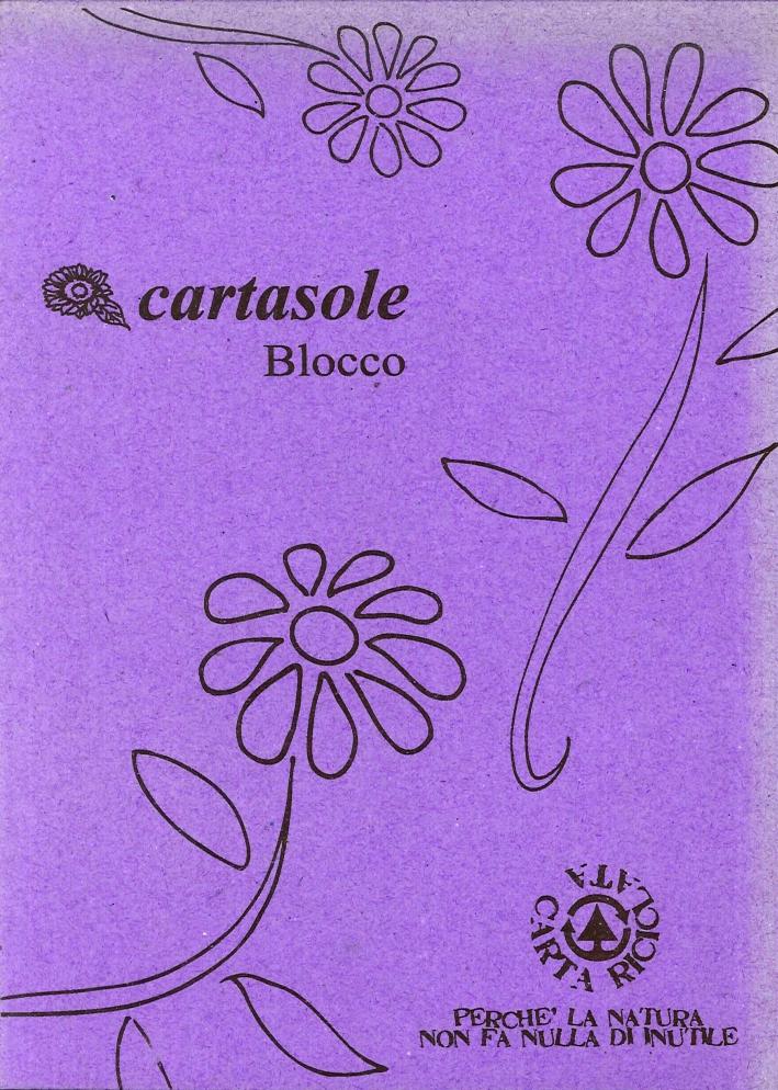 Cartasole Blocco Viola 15x21.