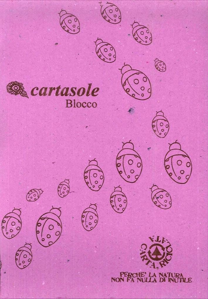 Cartasole Blocco Lilla 15x21