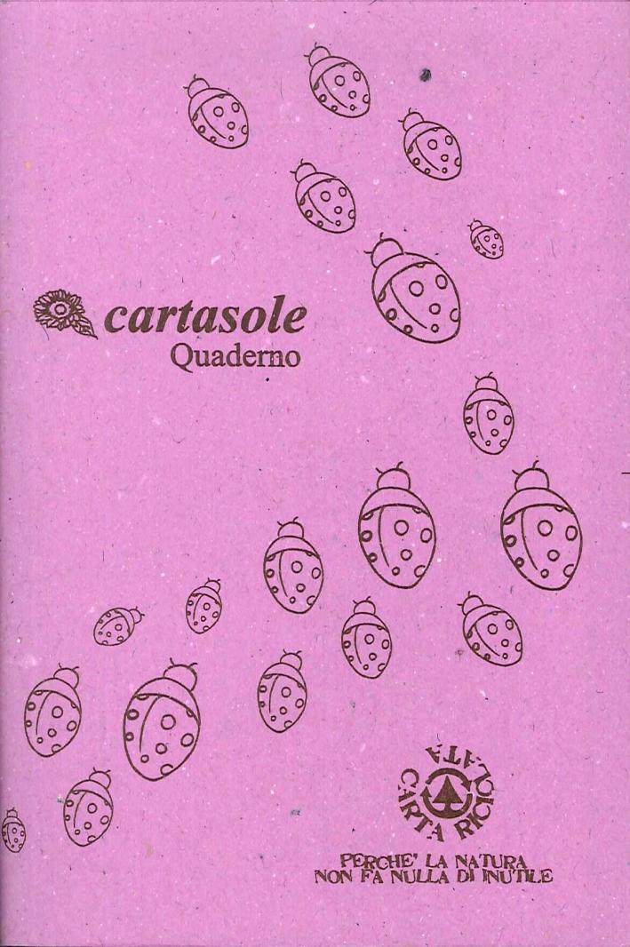 Cartasole Quaderno Lilla 9,5x15,5.