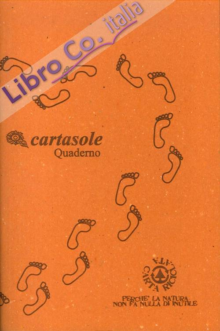 Cartasole Quaderno Arancione 9,5x15,5.