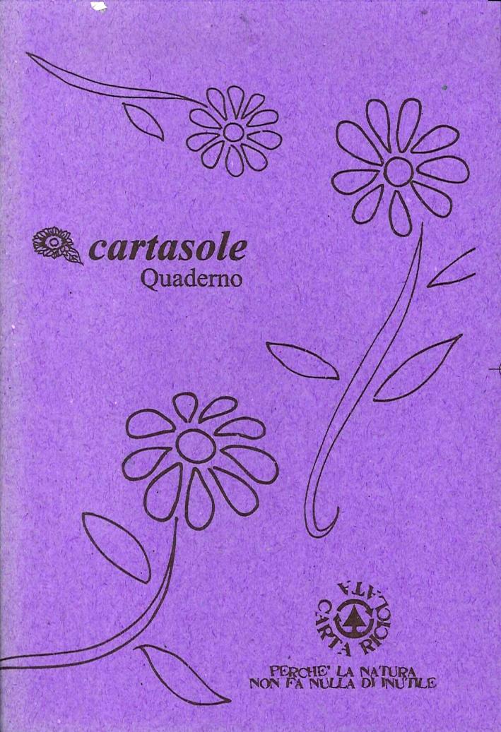 Cartasole Quaderno Viola 9,5x15,5.
