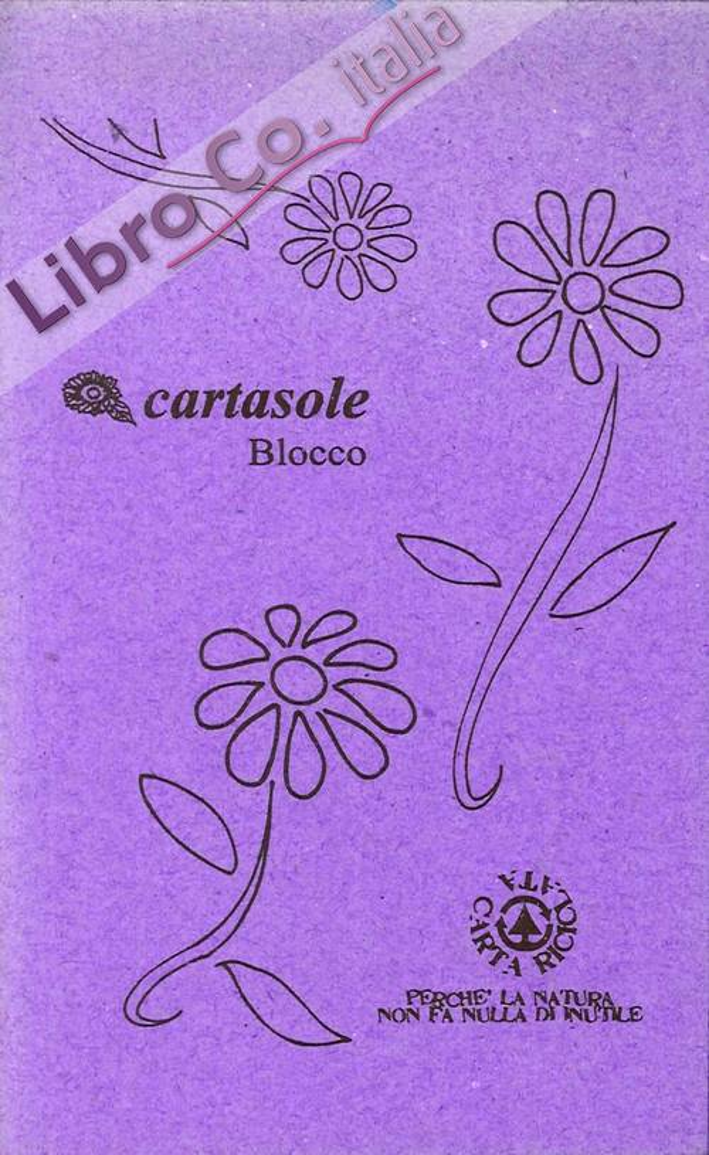 Cartasole Blocco Viola 9,5x15,5.