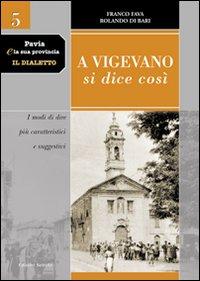 Pavia e la sua provincia. Il dialetto. Vol. 5: A Vigevano si dice così. I modi di dire più caratteristici e suggestivi.