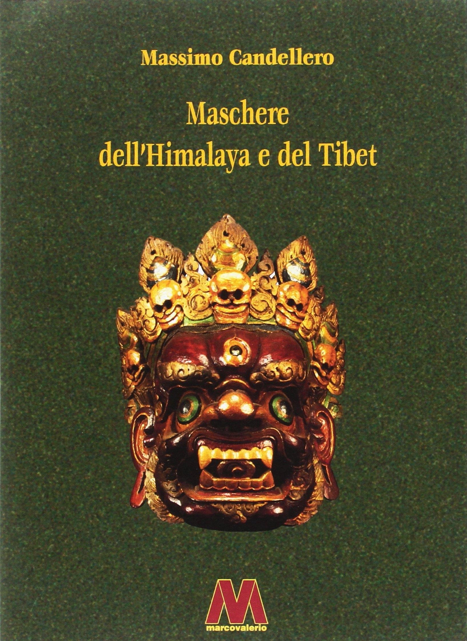 Maschere dell'Himalaya e del Tibet.