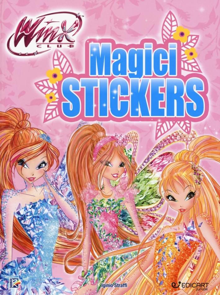 Magici stickers. Winx club. Con adesivi.