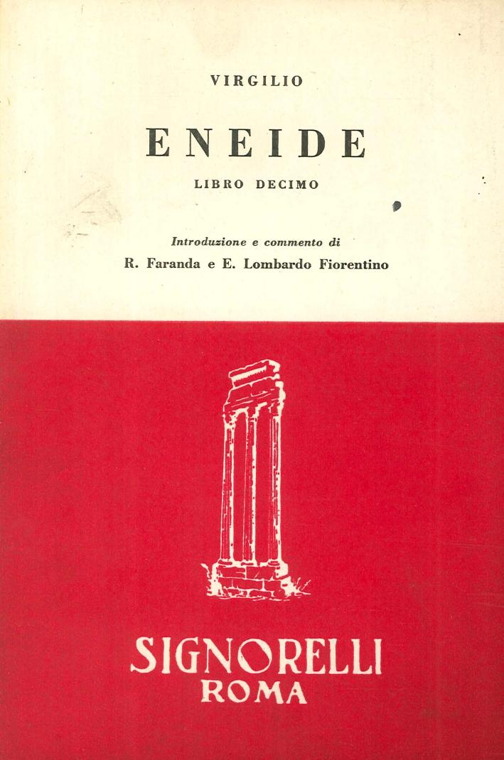 Eneide Libro 10.