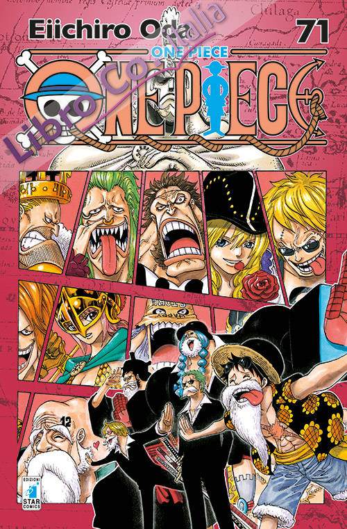 One piece. New edition. Vol. 71.