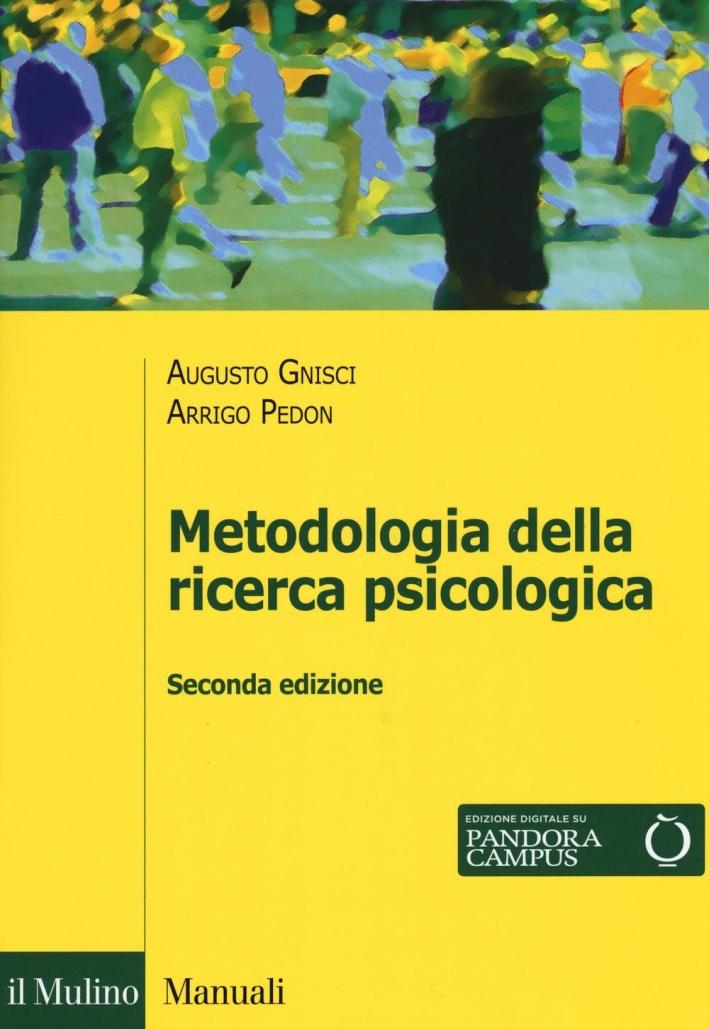 Metodologia della ricerca psicologica.