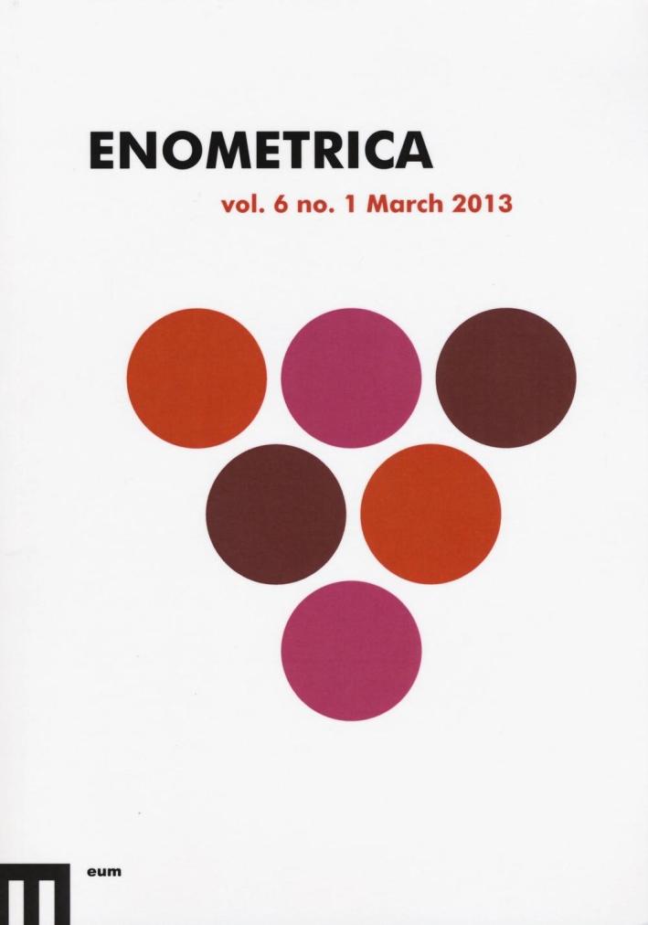 Enometrica (2013). Ediz. inglese. Vol. 6