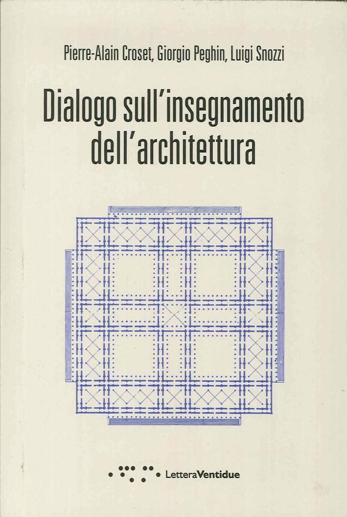 Dialogo sull'Insegnamento dell'Architettura.