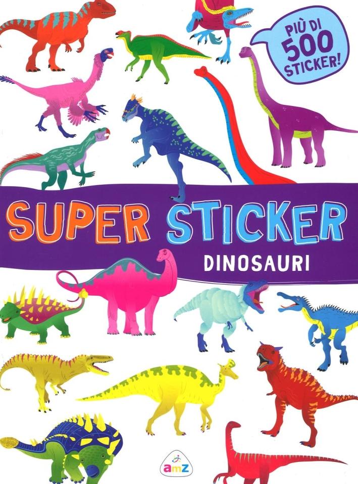 SUPER STICKER DINOSAURI.