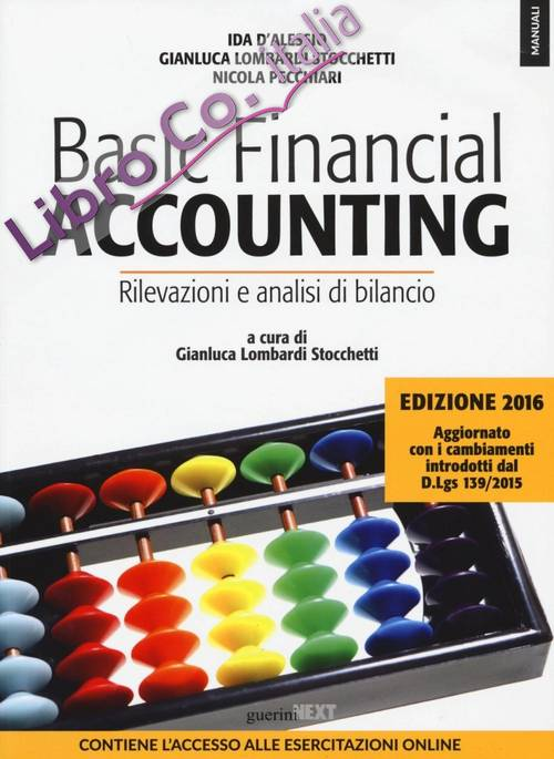 Basic financial accounting.