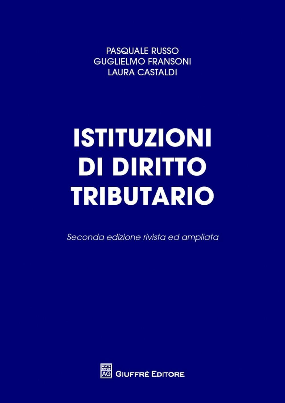 Istituzioni di diritto tributario.