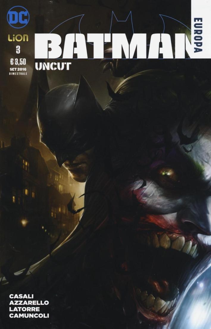Uncut. Batman Europa. Vol. 3
