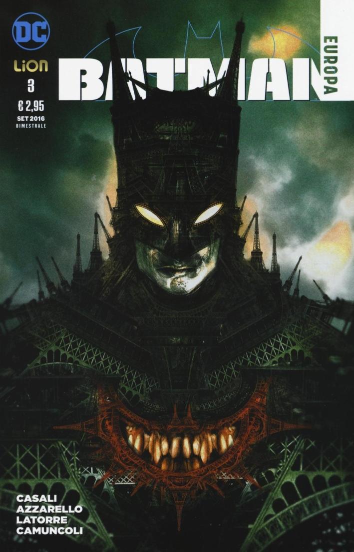 Batman Europa. Vol. 3.