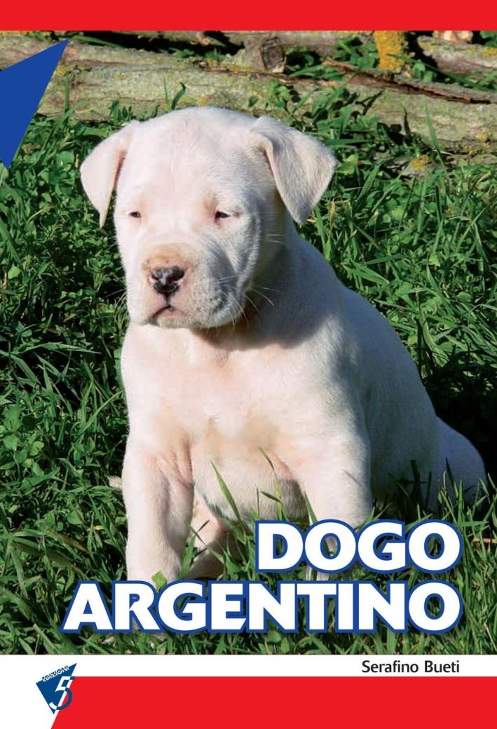Dogo argentino.
