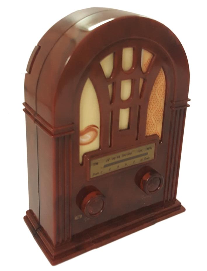Radio Stile Retro'. Cm 10,5x14.