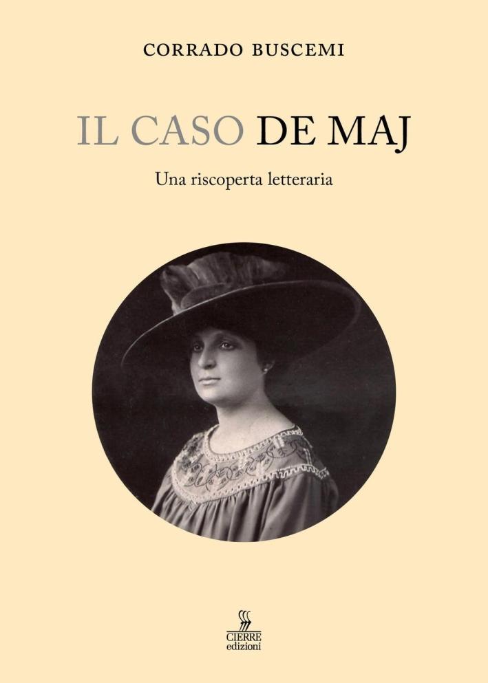 Il caso De Maj. Una riscoperta letteraria.