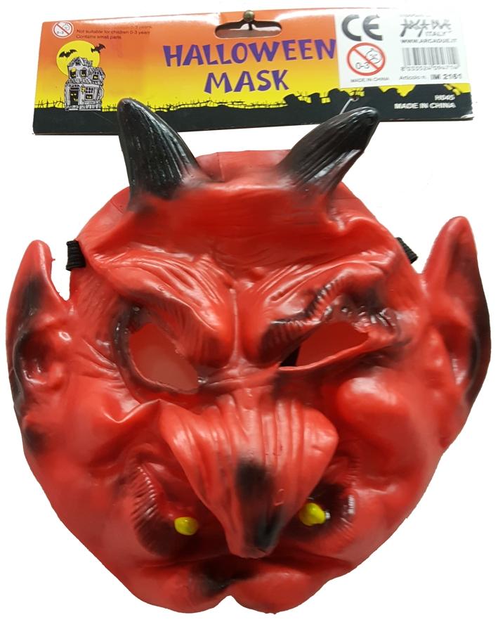 Halloween mask. Maschera halloween. Diavolo.