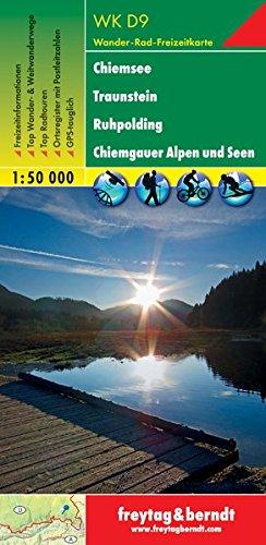 Chiemsee Traunstein Ruhpolding Chiemgauer Alpen und Seen.