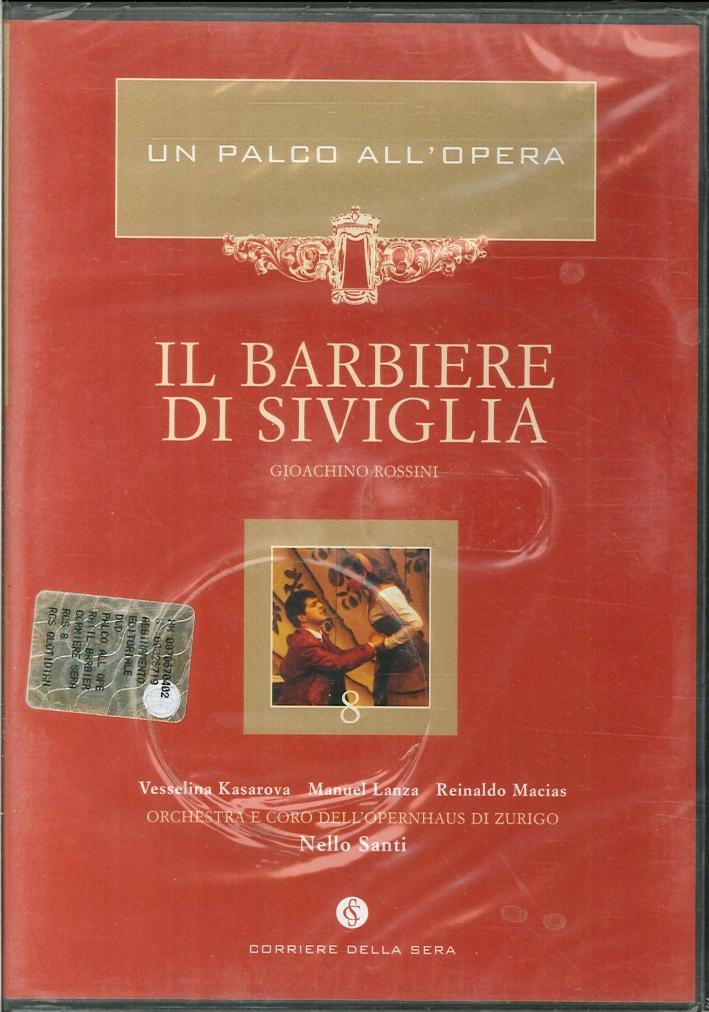 Il Barbiere di Siviglia. Un Palco all'Opera. Gioachino Rossini. DVD.