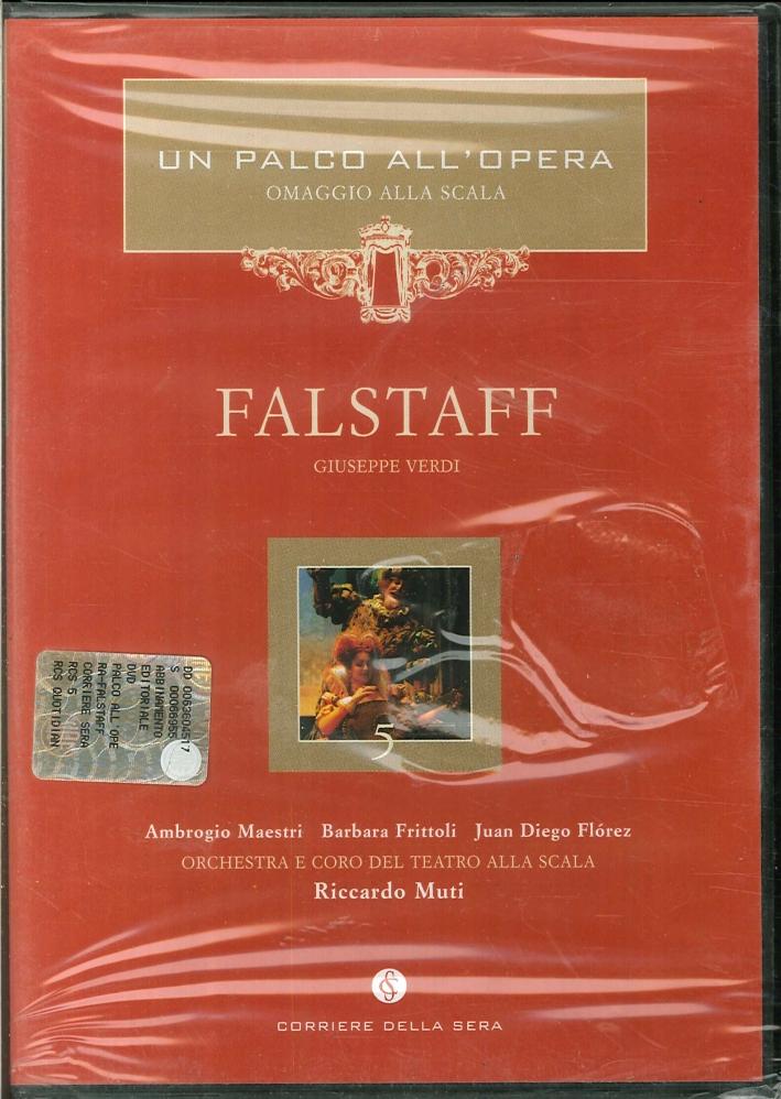 Falstaff. Un Palco all'Opera. Giuseppe Verdi. DVD.