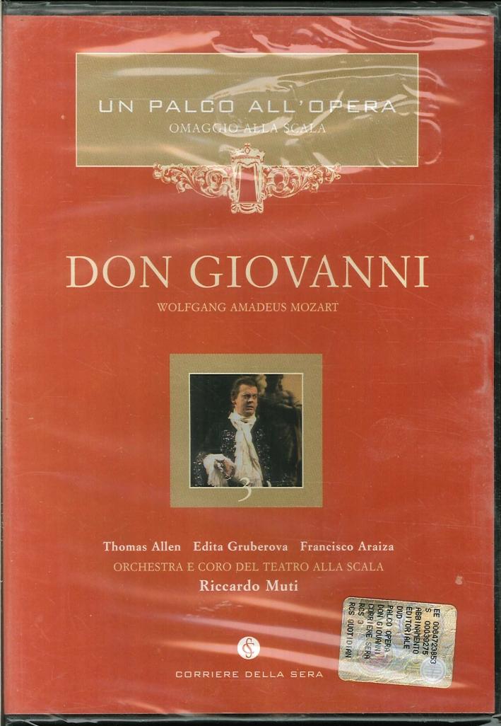 Don Giovanni. Un Palco all'Opera. Giuseppe Verdi. DVD.