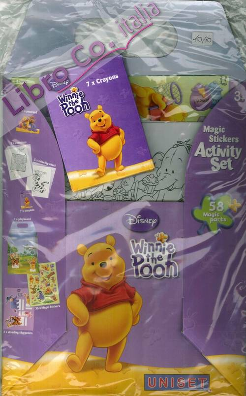 Winnie the pooh. Magic stickers activity set.