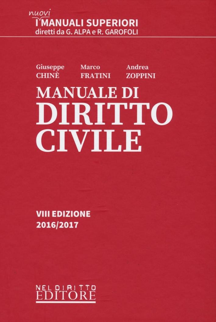 Manuale di diritto civile.