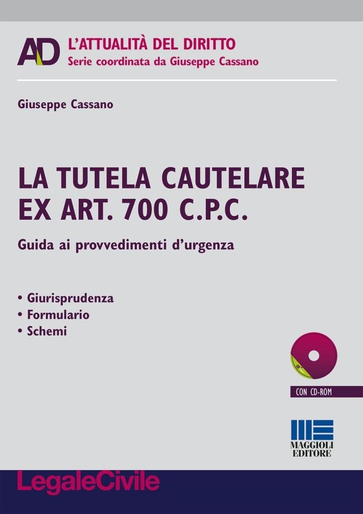 Come tutelare i diritti d'urgenza. L'applicazione dell'art. 700 cpc. Con CD-ROM.