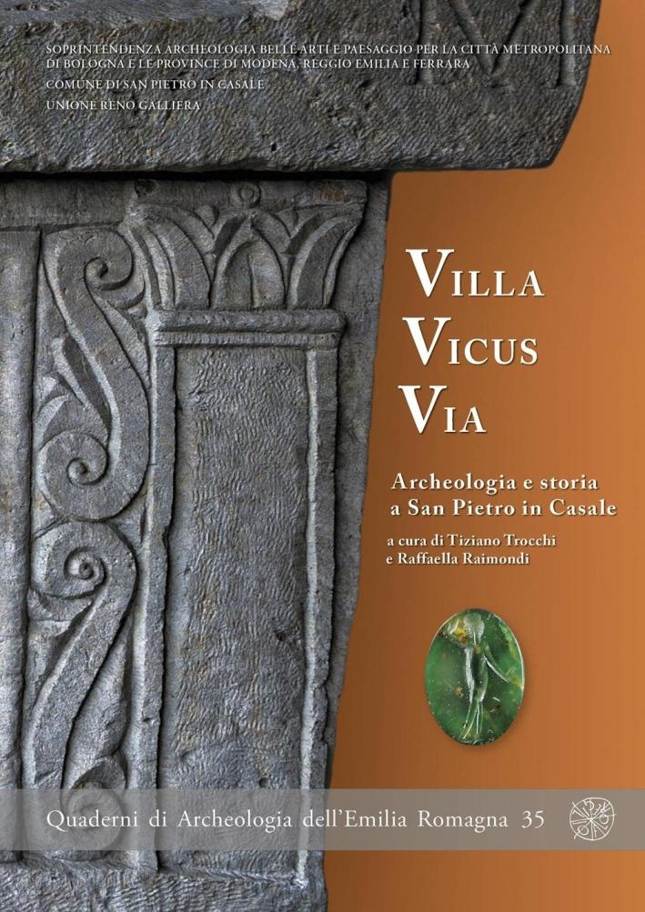 Villa Vicus Via. Archeologia e storia a San Pietro in Casale.