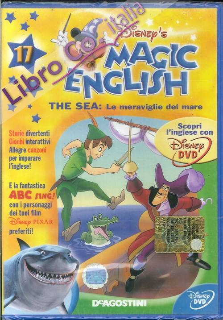 Magic English. The sea: le meraviglie del mare. Volume 17- DVD.