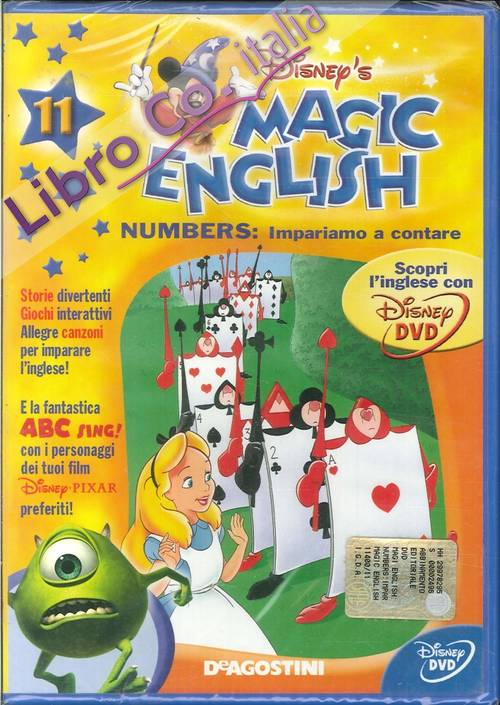 Magic English. Numbers: Impariamo a Contare. Volume 11 - DVD.