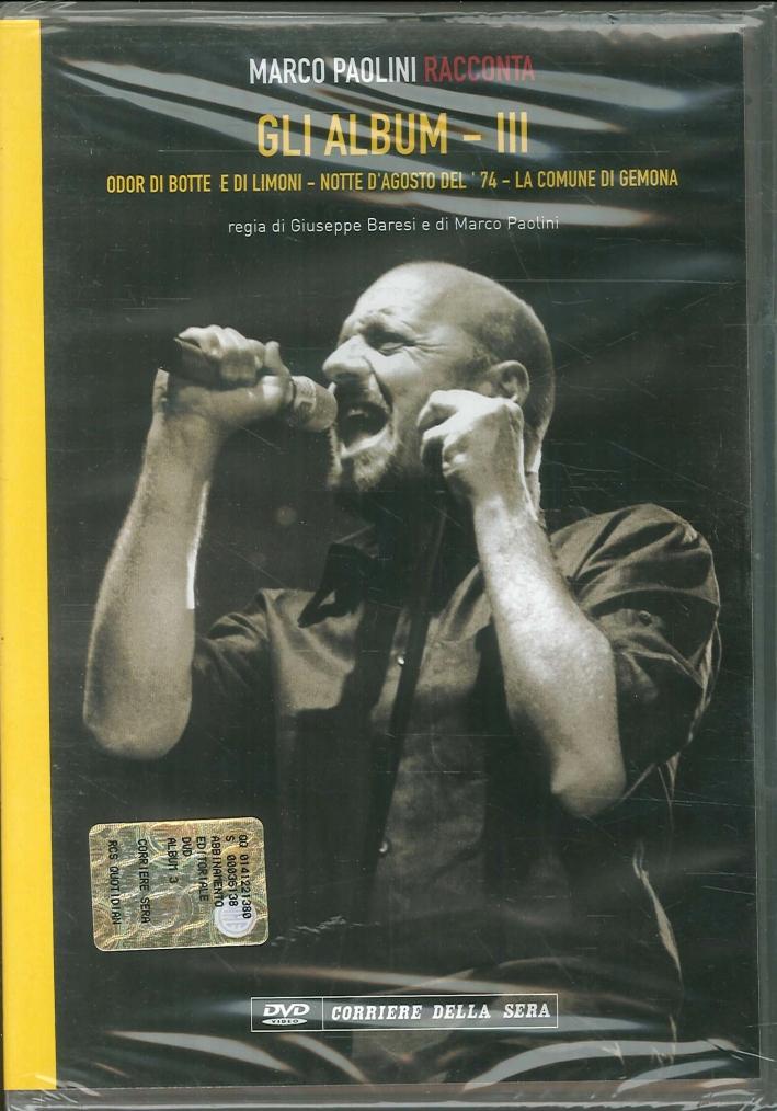 Marco Paolini Racconta. Gli Album - IV. Americhe 1984-La Cortina di Ferro-Teatro Tenda del Popolo. DVD.