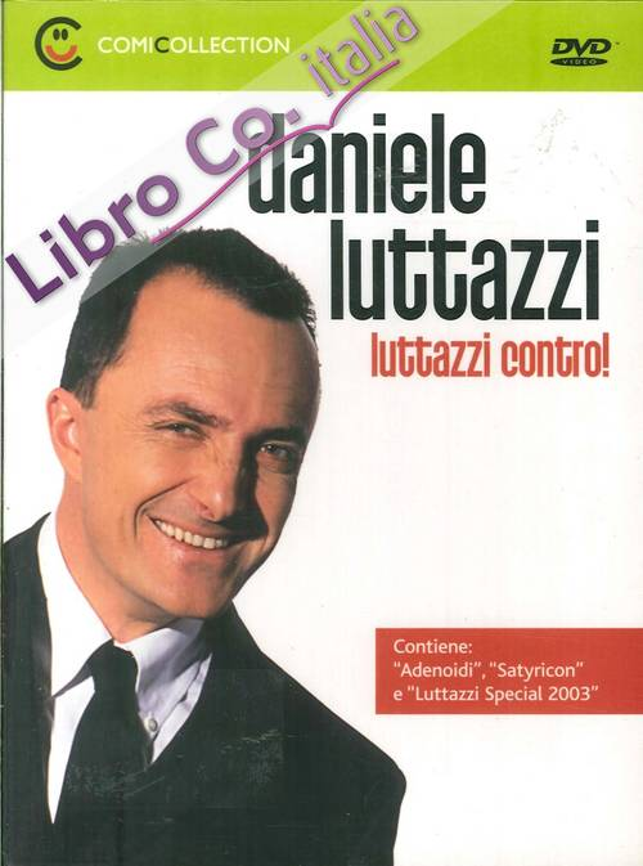 Daniele Luttazzi. Luttazzi Contro! DVD.