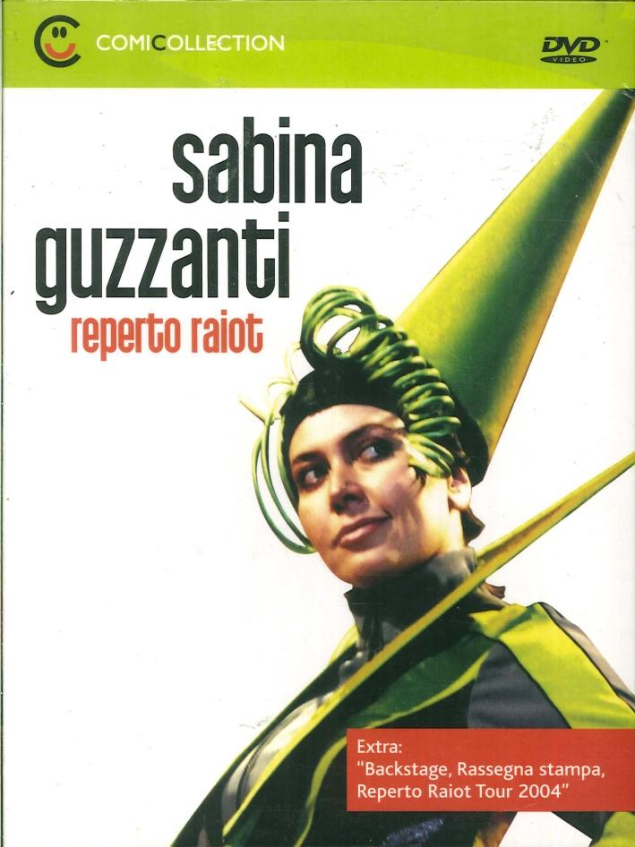 Sabina Guzzanti. Reperto Raiot. DVD