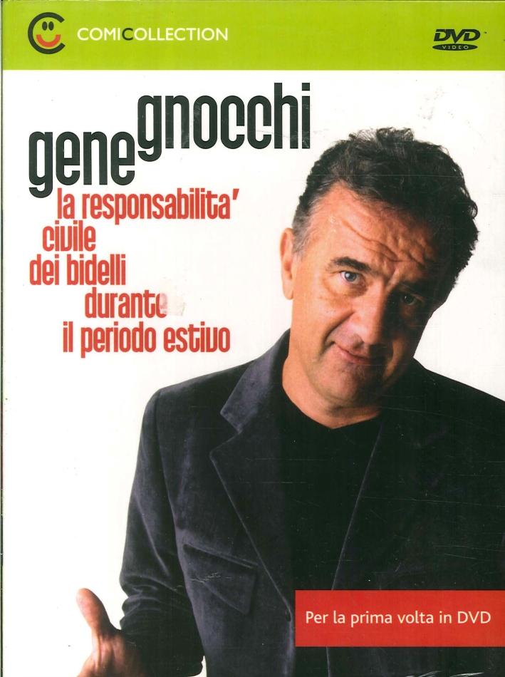Gene Gnocchi. La Responsabilità Civile dei Bidelli Durante il Periodo Estivo. DVD.