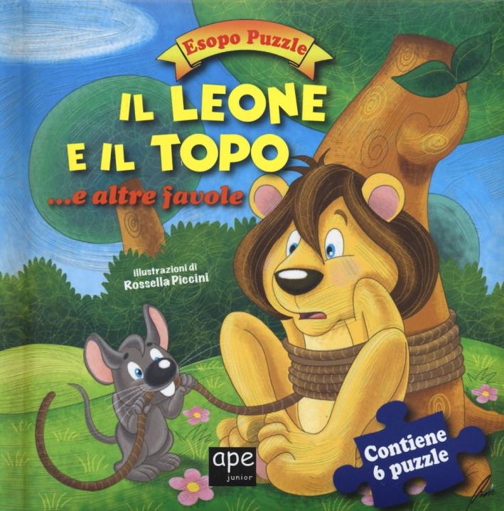 Il leone e il topo... e altre favole. Esopo puzzle. Con 6 puzzle.