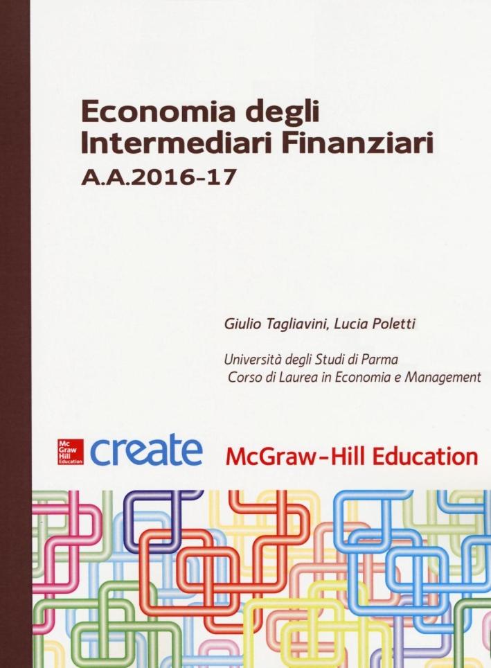 Economia degli intermediari finanziari A. A. 2016-17