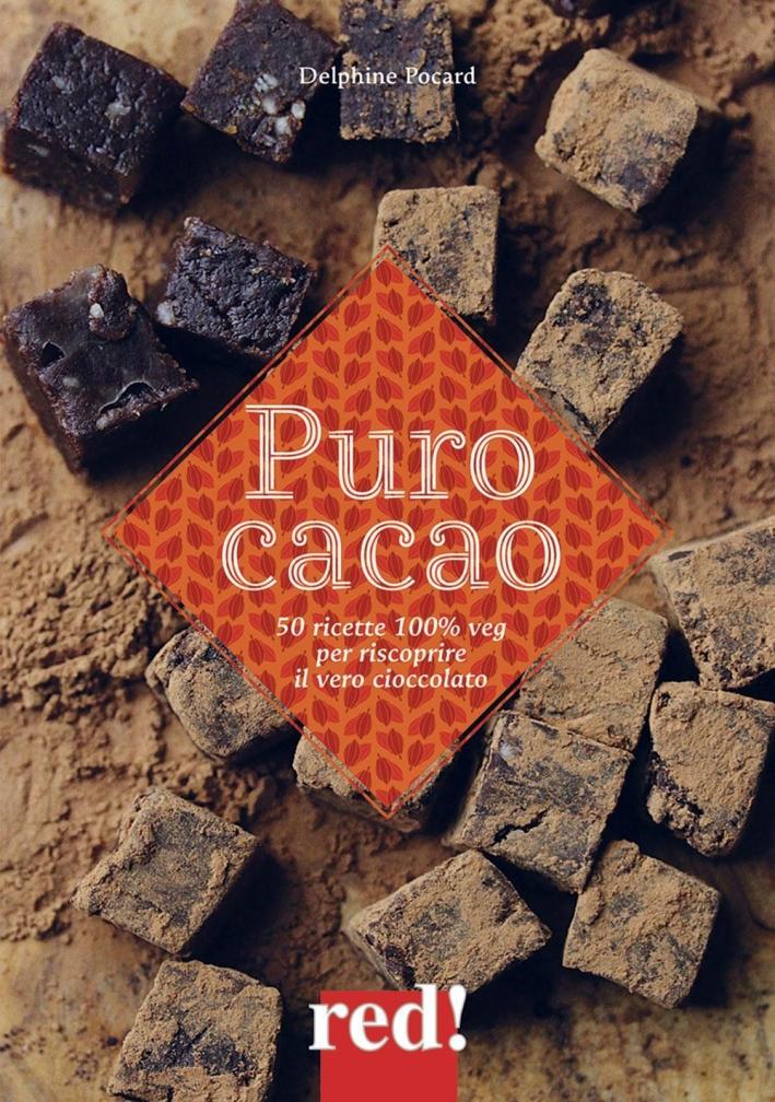 Cacao crudo.