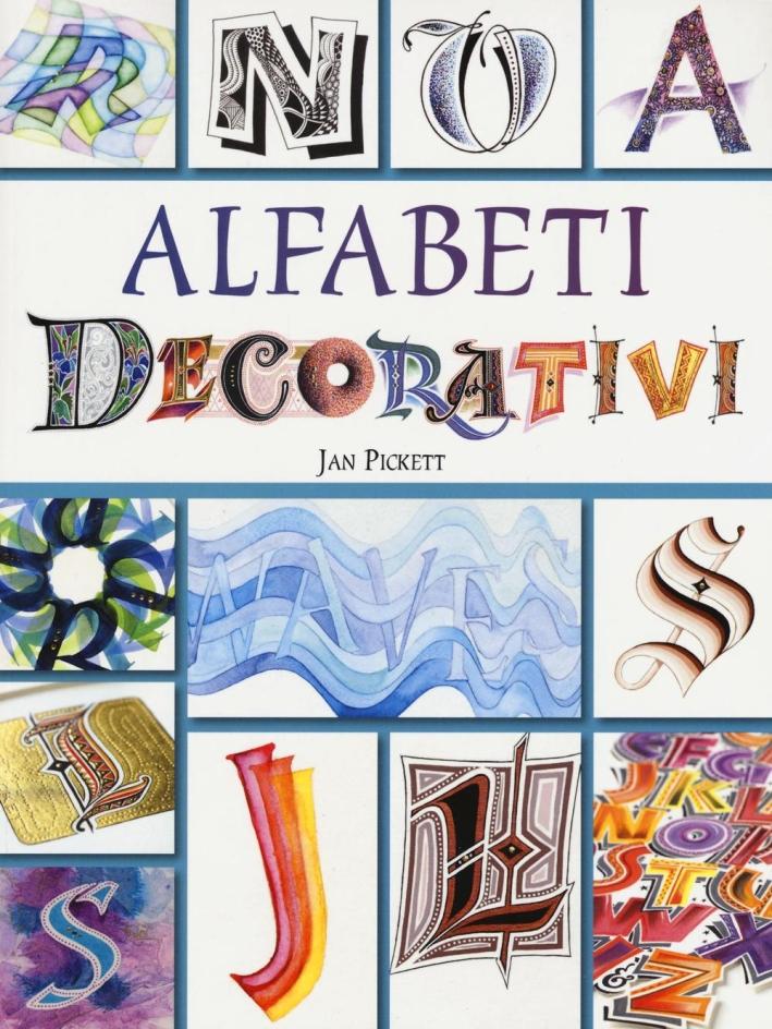 Alfabeti decorativi.